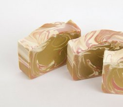 White Truffle Raspberry Soap