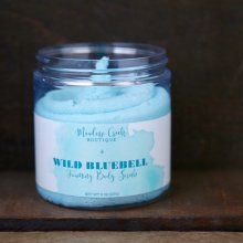 Wild Bluebell Whipped Soap Scrub