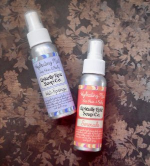 Hot Springs Hair & Body Mist