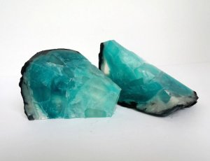 Blue Topaz Geode Soap